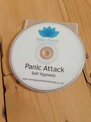 PANIC ATTACK Hypnotherapy CD, hypnosis, relaxation, meditation, HIGH QUALITY!