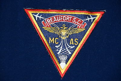 BEAUFORT SC MC AS TRIANGLE MILITARY PATCH NEW