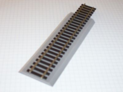 "5pcs (30') S Scale 1/4"" Gray Sound Foam Track Roadbed (Free Sample) cork replace"