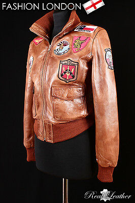 Real Leather Top amp; Jacket Mcgillis Gun Woman Kelly Fit Slim Faux xq6AfgwqU