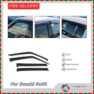 Premium Weather Shields Weathershields Window Visors for Swift 05-11 4pcs T