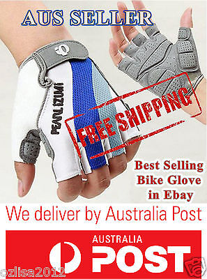 Men Racing Riding Cycling Bicycle Half Finger Gloves Mountain Bike Antiski Glove