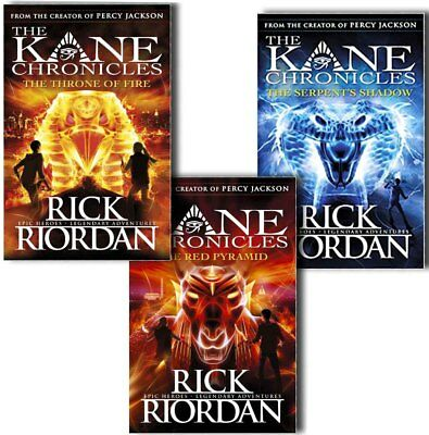 The Kane Chronicles Collection 3 Books Set Pack by Rick Riordan-The Serpents Sha