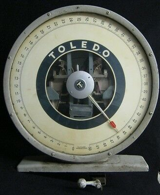 Vintage Industrial Steampunk Toledo Scale Top #1022-12