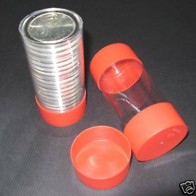 2 Airtite Cap-Tube -Tite Holder Model-i Dollar Silver Eagle Bullion Rounds Gold.