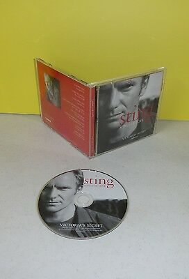 Sting Songs Of Love CD Victoria's Secret Exclusive Promo CD