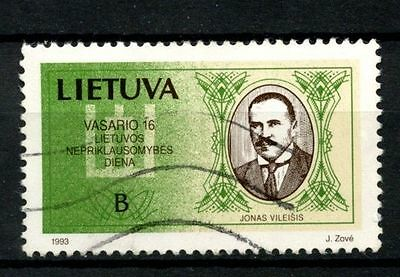 Lithuania 1993 SG#523 B, National Day Used #A26136
