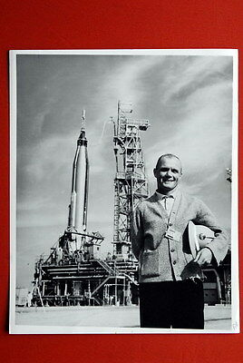John Glen Mercury Atlas Rocket 1962 . Rare Original Photograph Astronaut  Not Ap