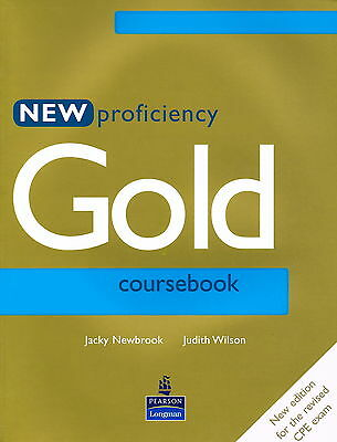Longman NEW PROFICIENCY GOLD COURSEBOOK for CPE Exam | Newbrook Wilson @NEW BOOK