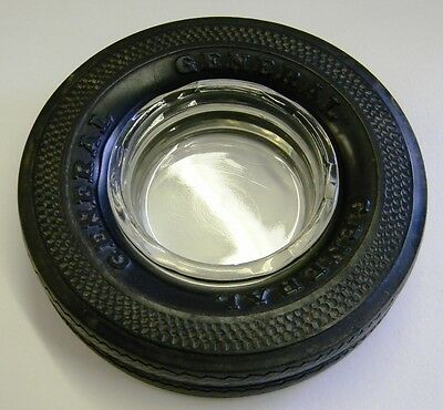 Vintage General Tire Rubber Ashtray