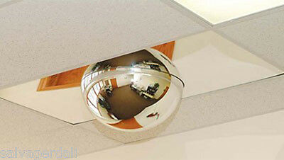 """22"""" Grid Ceilings Security Mirror Dome 2 X 4 Drop In Panel 360° Viewing Made USA"""