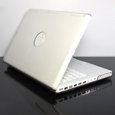 "CLEAR Crystal Hard Case Cover for OLD Macbook White 13"" A1181"