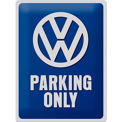 * VW Parking Sign Reproschild Werkstatt Garage Tuning Poster  *566