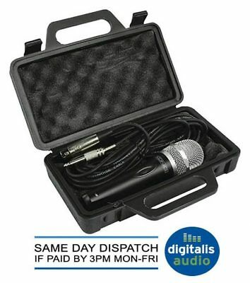 Konig Professional Uni- Directional Dynamic Microphone with 5m XLR lead and Case