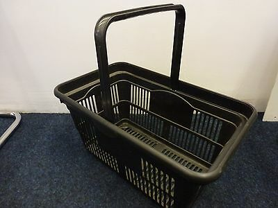 5 x New Supermarket Hand shopping baskets FREE DELIVERY