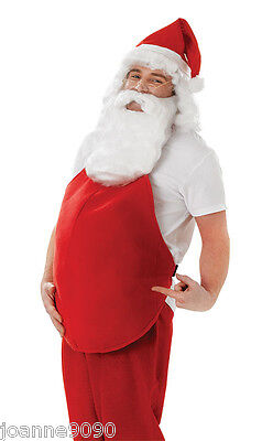 *Padded Fancy Dress Fat Belly Stomach Stuffer Xmas Santa Suit Costume Accessory*
