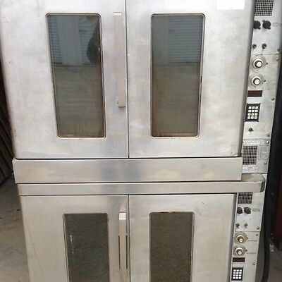 Hobart Double Stack Ovens Model DN93 Dn 93 DN932 Made In The USA