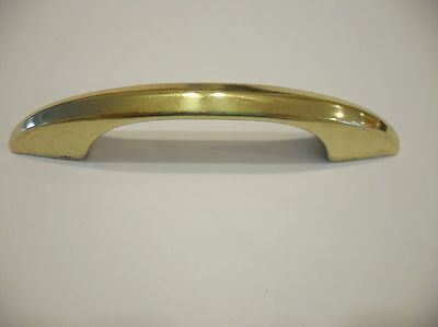 Vintage NOS 1950's Art Deco BRASS DRAWER Pulls Handles vintage trailer or boat