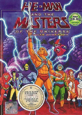 He-Man and the Masters of the Universe DVD (Season 1+2) + Free Mystery Gift