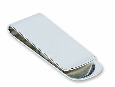 Silver Plated Money Clip Christmas Gift FREE ENGRAVING MC4