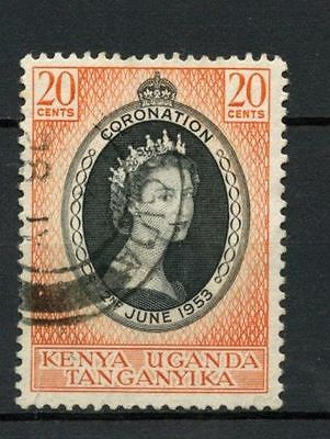 KUT 1953 SG#165 QEII Coronation Used #A26664