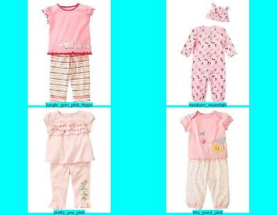 NWT Gymboree Baby Girl 2 pc Tops Pants Outfit Set NEW