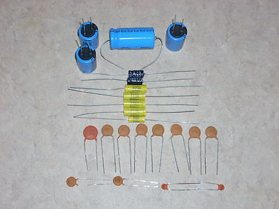 Ami Jukebox Amp Rebuild Cap Capacitor Kit For Models F G H Or I