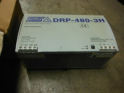 COUTANT LAMBDA POWER SUPPLY DRP-480-3H ~ New in box