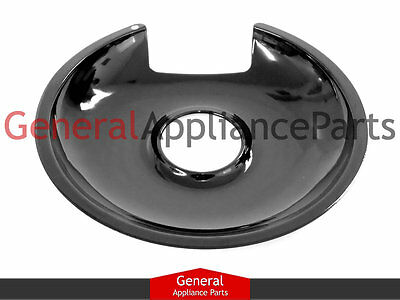 "GE General Electric Stove Range Cooktop 8"" Black Drip Pan Bowl PM32X145 8016"