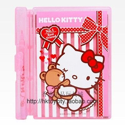 Us Sanrio Hello Kitty Notebook+Color Pen With Box-Pink 348918