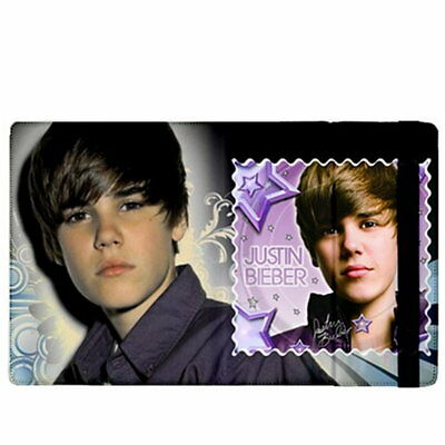 Justin Bieber Stars Rare Photos Flip Case Stand Cover for iPad 3 & iPad 2