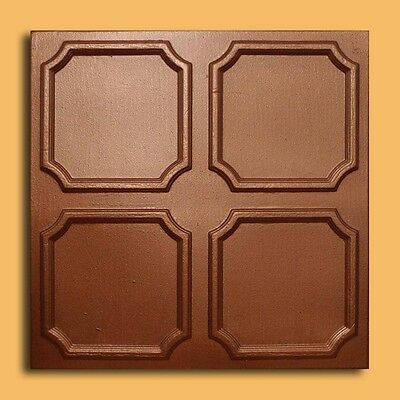 Styrofoam Ceiling Tile - ALFA Copper Tin-Look Glue Up Easy Instalation