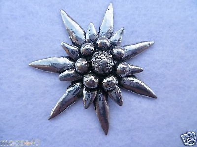 Edelweiss pin badge (large size)