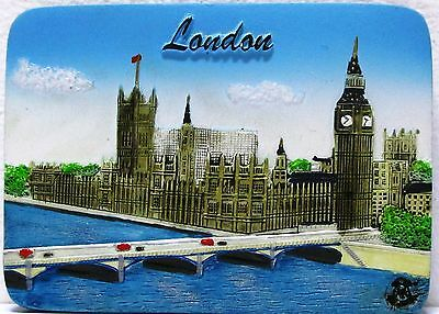 Fridge magnet,Great Britain,English souvenir,England,London /Day,3D gift