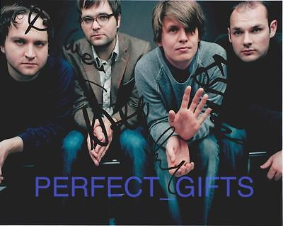 Death Cab For Cutie Band Signed Autographed 10X8 Repro Photo Print Ben Gibbard