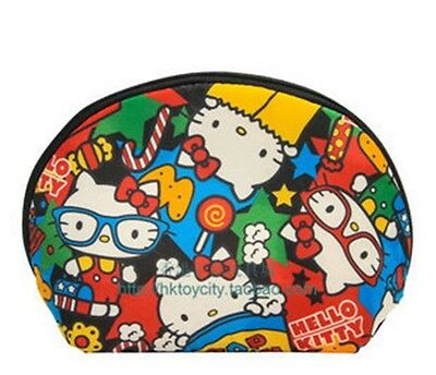 Hello Kitty Colorful Space Cotton Cosmetic Bag/coin Bag  584415