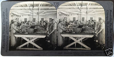 Keystone Stereoview of Hydraulic Gold Mining in OREGON from 1930's T600 Set OR