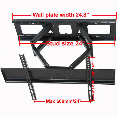 """Articulating TV Wall Mount for 32 37 39 40 46 48 50 55 60 65"""" LCD LED Plasma W02"""