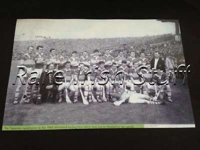 Wexford Vs Tipperary 1968 All Ireland GAA Gaelic Hurling Tipp Team Poster Print