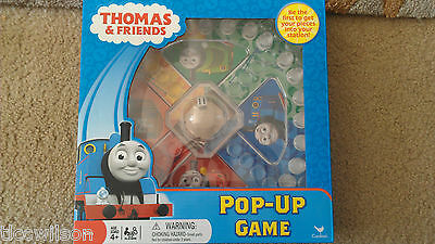 Thomas & Friends pop-up board game BNIB like Trouble