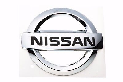 2004-2006 Nissan Maxima | Front Grill Grille Emblem Chrome GENUINE OEM BRAND NEW