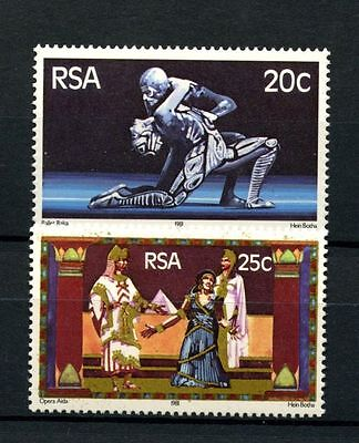 South Africa 1981 SG#490-1 State Theatre MNH Set #A27842