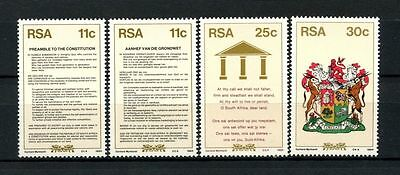 South Africa 1984 SG#566-9 New Constitution MNH Set #A27869