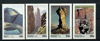South Africa 1986 SG#608-11 Rock Formations MNH Set #A27881