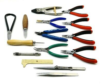 Jewelry Making Tool Kit 15 Pc Bead Working Hand Tools For Jewelers Hobby & Craft