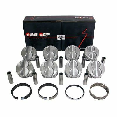 Speed Pro FMP H273CP Small Block Ford Speed Pro Flat Top Pistons Standard Bore