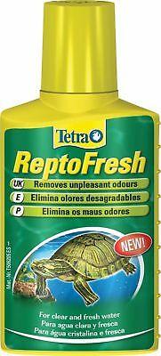 Tetra Reptofresh 100Ml Removes Odours Reptile Turtle Clear Fresh Water Tank
