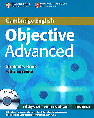 Cambridge OBJECTIVE ADVANCED Student's Book w Answers & CD-ROM Third Ed @NEW@