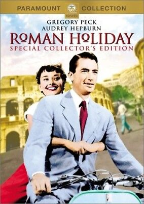 Roman Holiday (DVD, 2002, Collector's Edition) Gregory Peck Audrey Hepburn