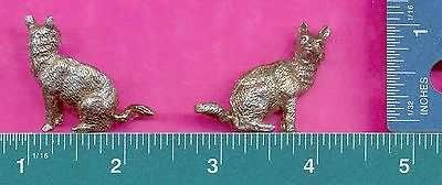 lead free pewter coyote figurine D4144